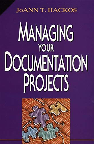 Managing Your Documentation Projects (Major Field Test In Business Study Guide)