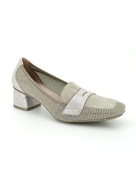 Hispanitas, Madeira, Zapato Taupe de Mujer, Talla 36: Amazon