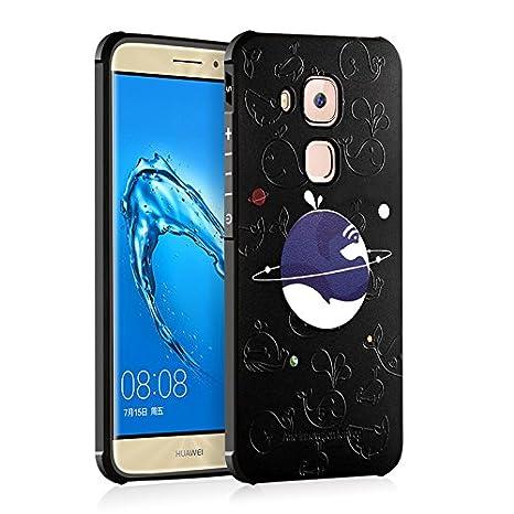 Huawei Nova móvil, chreey [Avantgarde Serie] 3d paddelsurf erleichterung suave TPU silicona Funda Bumper Case resistente a los arañazos Funda Soft Back ...