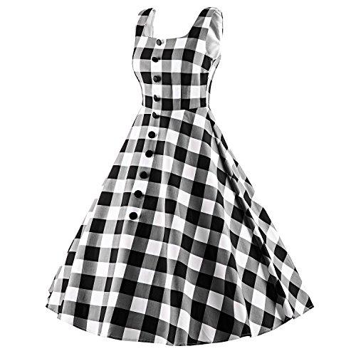 LUOUSE  - Vestido - para mujer V020-Gray