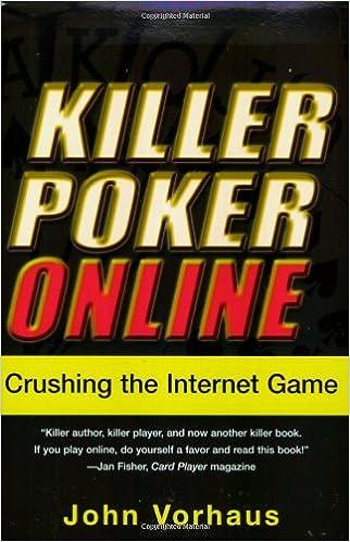 Killer poker john vorhaus online slots with bonus rounds