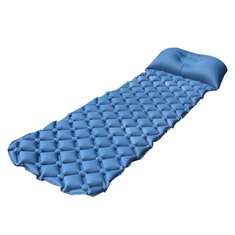 Outdoor product Aufblasbare Matratze, TPU Feuchtigkeit-Beweis-Massage Aufblasbares Kissen, Ultra-Leichtes Tragbares Aufblasbares Bett, Im Freien Kampierendes Aufblasbares Kissen des Strandkletterns