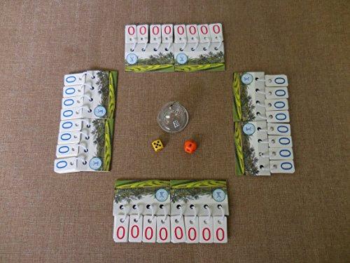 Duplay数学カードゲーム( M、タイマー、せずメーカー希望小売価格)–デジタル麻雀Rummikubラミー数学Dice Game And旅行カジノタイルゲームbyポータブルスコアボードフリップスコアカードTabletopコンパクトスコアカード