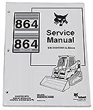 Bobcat 864 Compact Track Loader Complete Shop Service Manual - Part Number # 6900627