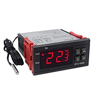 ketotek STC-1000 digital LED controlador de temperatura 220 V ...