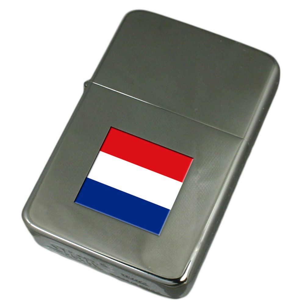 Engraved Lighter The Netherlands Flag
