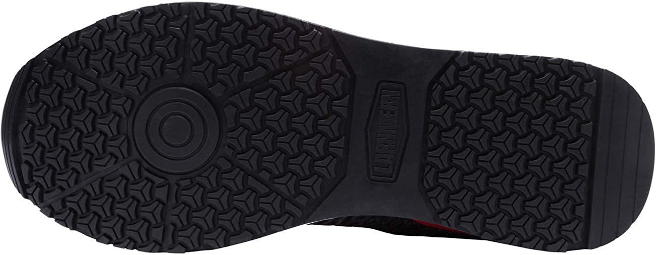 Zapatos de Seguridad para Hombres Zapatillas de Trabajo con Punta de Acero L-9105 Zapatillas de Deporte Reflectantes Antideslizantes Transpirables antiest/áticas