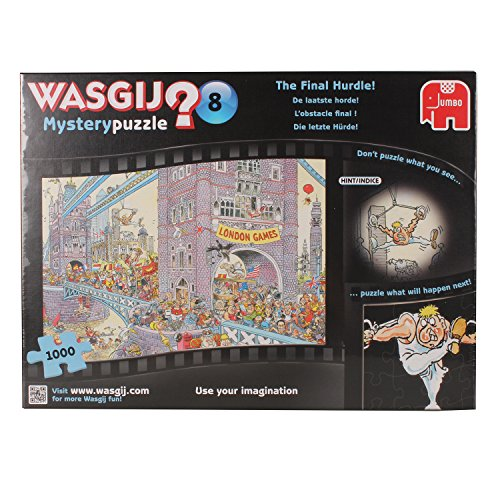 Wasgij 1000 Piece Mystery 8 The Final Hurdle Jigsaw Puzzle