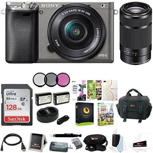 sony alpha a6000 w lens