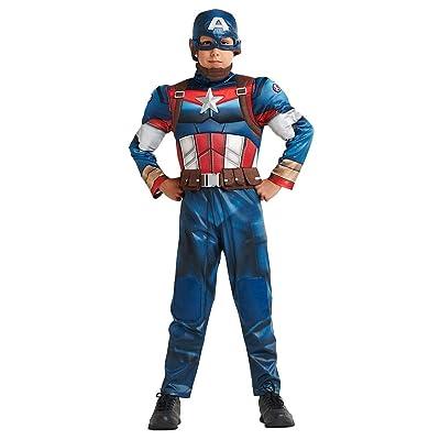 Marvel Captain America Costume for Kids: Clothing