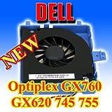 Dell OptiPlex GX620 745 755 760 USFF Hard Drive HDD Cooling Fan w/ Bracket DW016
