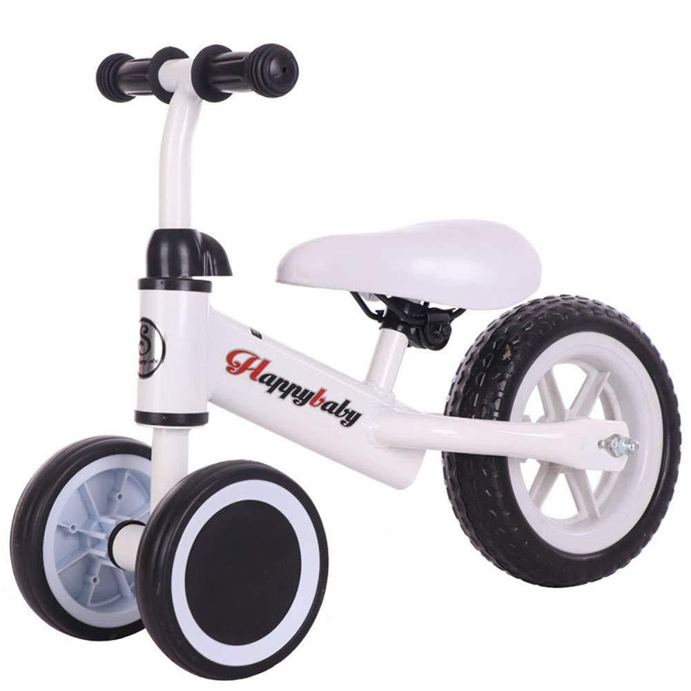 B WYXTrike Baby Balance Bike Kids Lightweight Balance Walking Training Tricycle No Pedal Baby Car for 13 Years,b