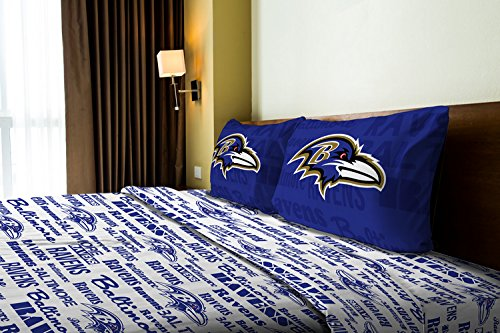 The Northwest Company Baltimore Ravens OFFICIAL NFL Full Sheet Set – Anthem Series by The Northwest Company