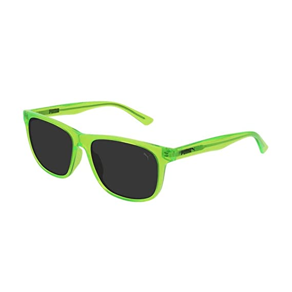 Puma Junior Gafas de sol, Verde (Green/Smoke), 52.0 para ...