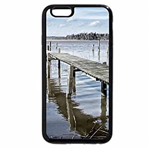 iPhone 6S / iPhone 6 Case (Black) old dock in a lake