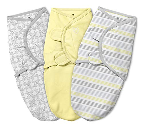 SwaddleMe Original Swaddle Yellow Stripe product image