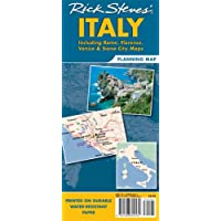 Rick Steves' Italy Map: Including Rome, Florence, Venice and Siena City