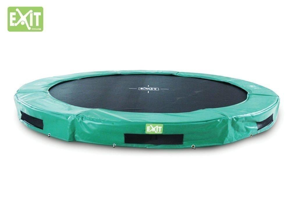 EXIT InTerra Trampolin Bodentrampolin Belastbarkeit: 100 kg