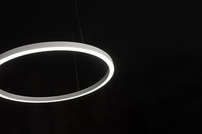 Linea light tour sospensione Ø mm w k grigio amazon