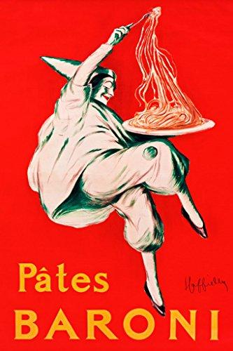 pates baroni spaghetti poster - 6