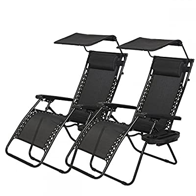 Bestmassage Zero Gravity Chair Patio Chairs Lounge Chair 2