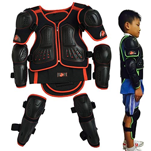 Toach Children's Pulley Armor Safety Armour Anti-Fall Knee Guard Elbows by Toach (Image #9)