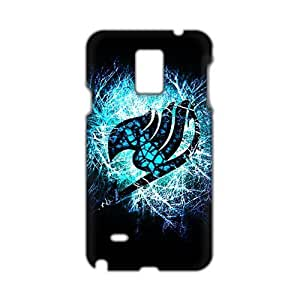 Blue shiny Fairy Tail 3D Phone For SamSung Note 2 Case Cover