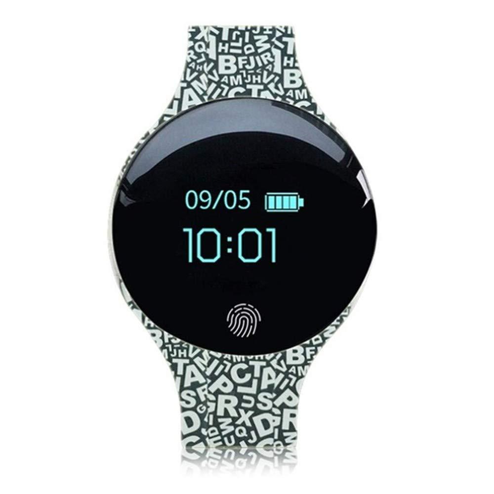 Blautooth Smart Armband wasserdicht Sport Fitness Armband mit Pedometer Gesundheitsüberwachung Touchscreen Uhr