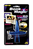 Ten Book Magic Book Holder, Wire Clip Holds Books Upright, Pack of 10 Holders Assorted Colors