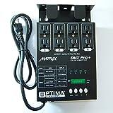 MATRIX DMX PRO 4 Channel Double Output Dimmer Pack