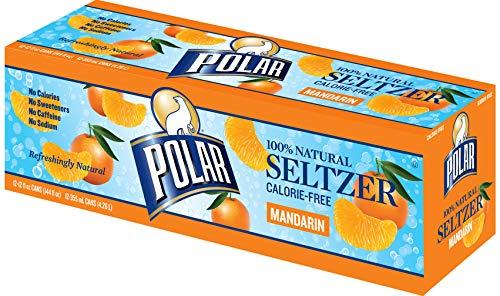 Polar Beverages Seltzer Mandarin, 12 oz