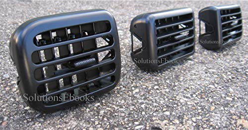 1998-2001 1999 2000 Dodge Ram 1500 Air Outlet Vents Air-Conditioning Heater Bezel Instrument Cluster ac dash dashboard - 1998-2002 Dodge Ram 2500 3500 pickup - Replacement for Dodge -by Active Company