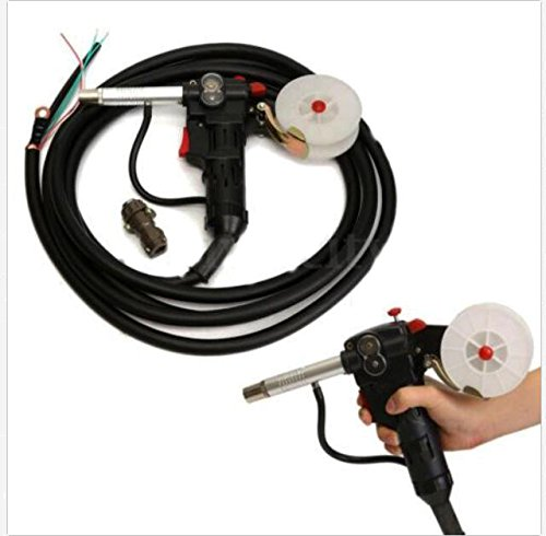 Millers MIG Spool Gun Push Pull Feeder Aluminum Welding Torch with 5m Cable