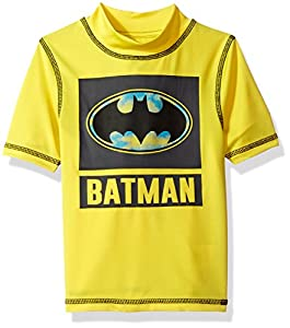 Warner Brothers Boys' Batman 2-Piece Swim Set at Gotham City Store