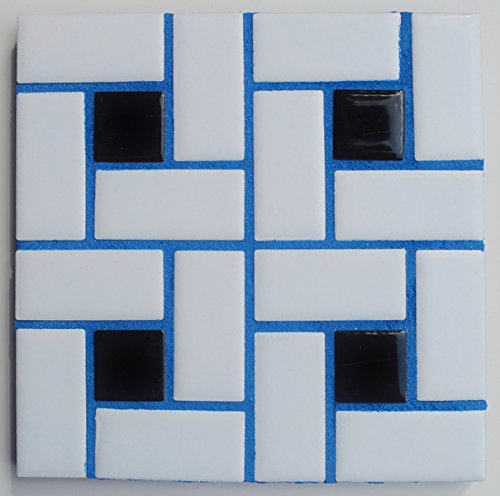 Buzzed Blue Unsanded Tile Grout - 5 lbs - with Blue Pigment in The Mix by Grout360 (Image #4)