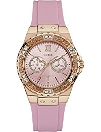 Womens Iconic U1053L3 Rose-Gold Silicone Japanese Quartz Fashion Watch