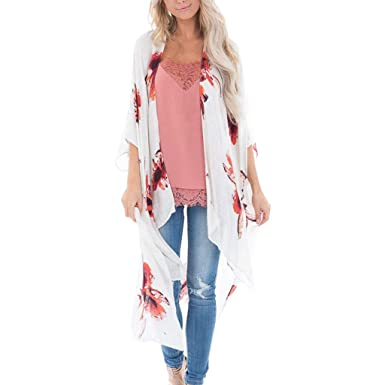 online store 4645b 15cab Cardigan Estivo Donna, feiXIANG Cardigan di Chiffon Kimono ...