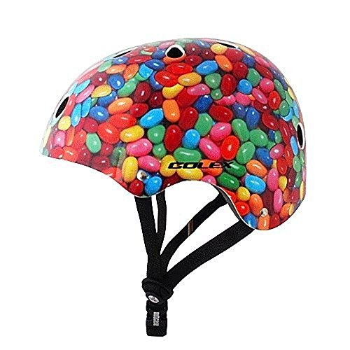 Huontye Kids' Scooter Cycling Helmet,Chocolate Chips,Small -