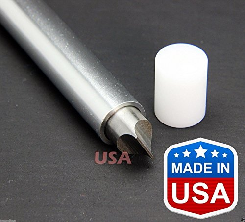 Tour Ping Wedge (JamisDIRECT USA Golf Club U V Square Wedge Iron Groove Sharpener Cleaner Regrooving Tool Lifetime Warranty - Made in USA)