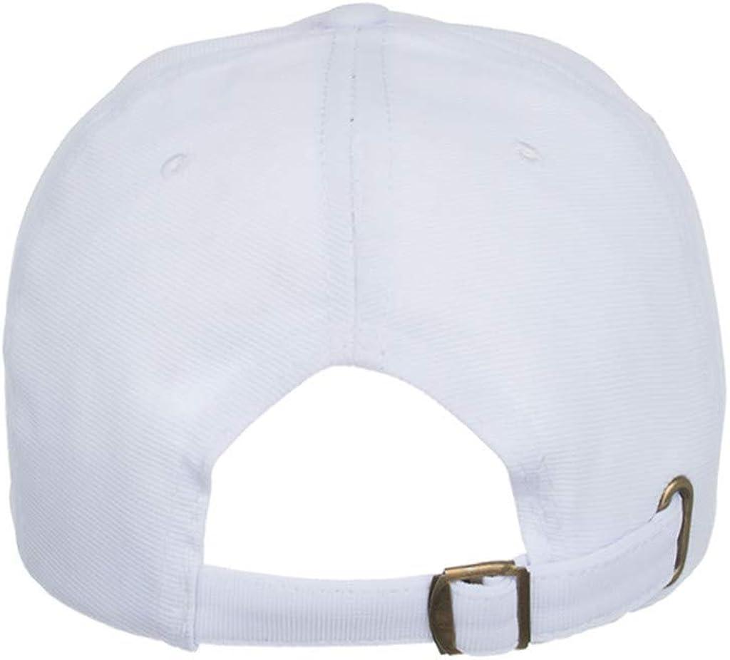 Gorra de Hombre y Mujer,Gorra de B/éisbol con Algod/ón Sombrero de Sol de Color S/ólido Ligero Actividades al Aire Libre Correa Moda de Hebilla de Metal Ajustable para Pesca Tenis Senderismo