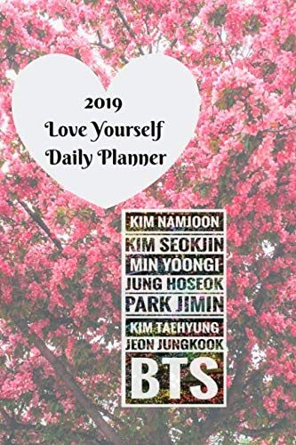 """2019 """"Love Yourself"""" Daily Planner - BTS (BTS Planners)"""