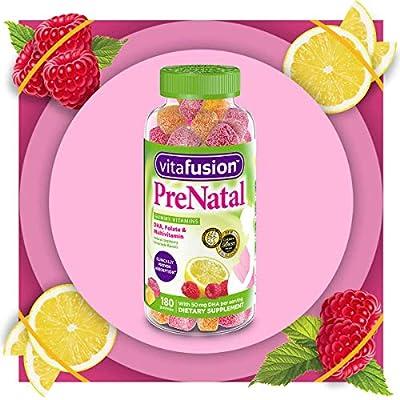 Vitafusion Prenatal Gummy Vitamins, 180 Count (Packaging May Vary)