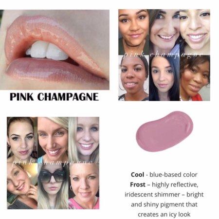 LipSense Pink Champagne - Gloss Pink Champagne Lip