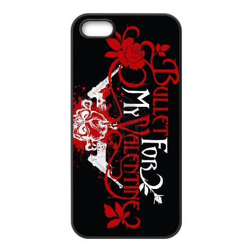 Bullet For My Valentine 004 coque iPhone 4 4S cellulaire cas coque de téléphone cas téléphone cellulaire noir couvercle EEEXLKNBC23947