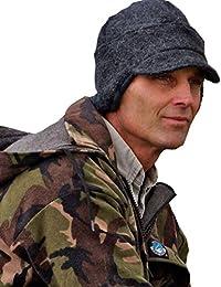 Extreme Warmth Adjustable WindStopper Alpaca Hat- Stops the Wind, Water & Odor by Alpacas of Montana
