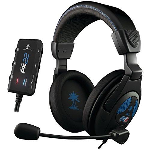 Micro-casque Ear Force PX22 Noir pour PS3PS4Xbox 360PCAppareil Mobile