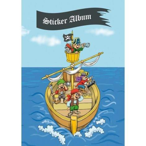 Stickeralbum A5 Piratenabenteuer