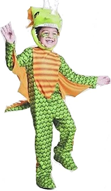 Halloween Green Dragon Costume All Over Toddler T Shirt
