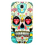 Unique Colourful Skull Embossed Skin Back Cover Case For Samsung Galaxy S4 S IV i9500 A11