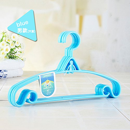 U-emember Children'S Plastic Small Baby Clothes Hangers Hold